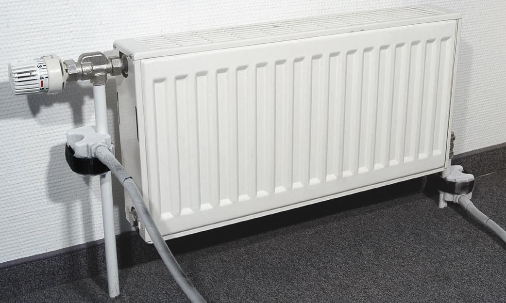 Congelation tuyau radiateur
