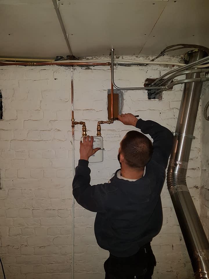 Installation compteur de passage